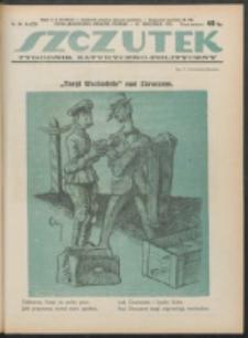 Szczutek. R. 4, nr 40 (1921)