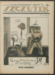 Szczutek. R. 4 , nr 53 (1921)