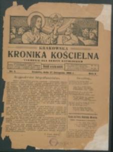 Krakowska Kronika Kościelna. R. 1, nr 1 (1921)