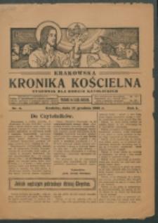 Krakowska Kronika Kościelna. R. 1, nr 4 (1921)