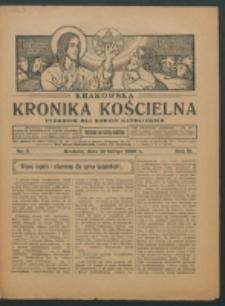 Krakowska Kronika Kościelna R. 2, nr 7 (1922)