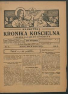 Krakowska Kronika Kościelna R. 2, nr 11 (1922)