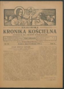 Krakowska Kronika Kościelna R. 2, nr 15 (1922)