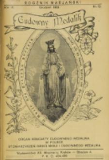 Rocznik Mariański. R. 9, nr 12 (1933)