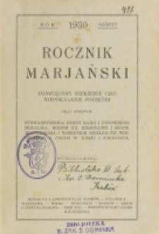 Rocznik Mariański. R. 6 (1930)