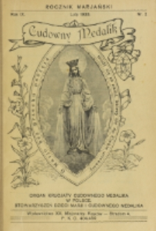 Rocznik Mariański. R. 9, nr 2 (1933)