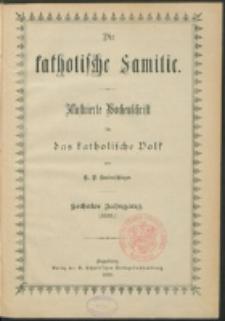Die Katholische Familie. R. 6, no. 1 (1899)