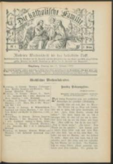 Die Katholische Familie. R. 6, no. 7 (1899)
