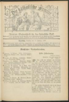 Die Katholische Familie. R. 6, no. 8 (1899)