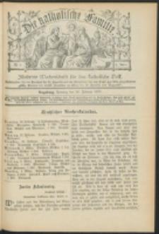 Die Katholische Familie. R. 6, no. 9 (1899)