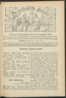 Die Katholische Familie. R. 6, no. 10 (1899)