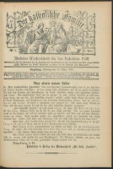 Die Katholische Familie. R. 6, no. 12 (1899)
