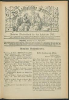 Die Katholische Familie. R. 6, no. 17 (1899)