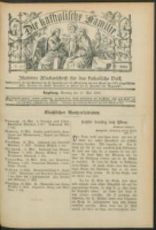 Die Katholische Familie. R. 6, no. 20 (1899)