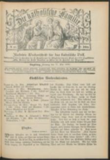 Die Katholische Familie. R. 6, no. 21 (1899)