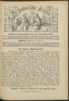 Die Katholische Familie. R. 6, no. 22 (1899)