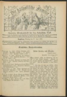 Die Katholische Familie. R. 6, no. 24 (1899)