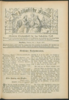 Die Katholische Familie. R. 6, no. 32 (1899)