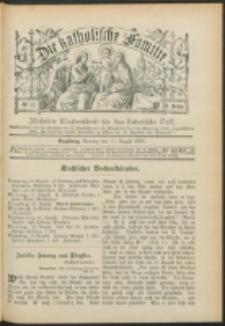 Die Katholische Familie. R. 6, no. 33 (1899)