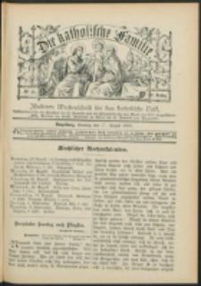 Die Katholische Familie. R. 6, no. 35 (1899)