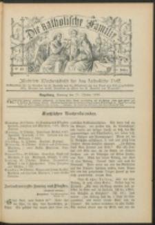 Die Katholische Familie. R. 6, no. 43 (1899)