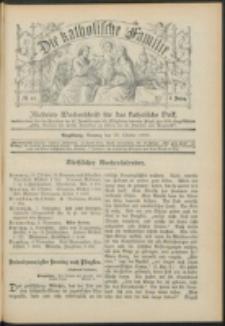 Die Katholische Familie. R. 6, no. 44 (1899)