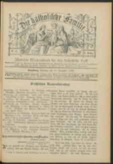 Die Katholische Familie. R. 6, no. 47 (1899)