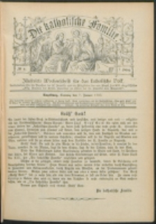 Die Katholische Familie. R. 7, no. 2 (1900)