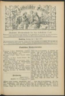 Die Katholische Familie. R. 7, no. 15 (1900)