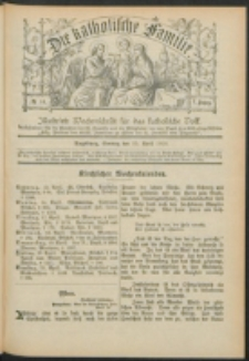 Die Katholische Familie. R. 7, no. 16 (1900)