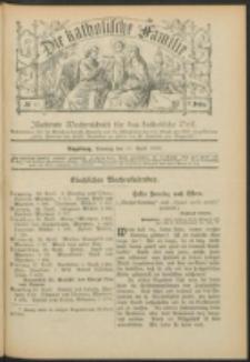 Die Katholische Familie. R. 7,. no. 17 (1900)