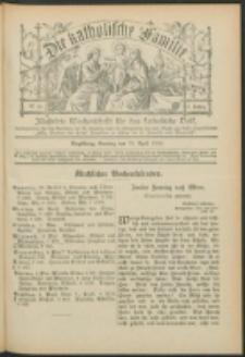 Die Katholische Familie. R. 7, no. 18 (1900)