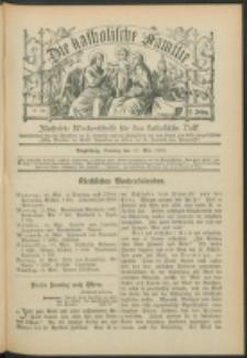 Die Katholische Familie. R. 7, no. 20 (1900)