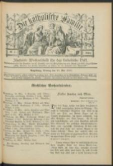 Die Katholische Familie. R. 7, no. 21 (1900)