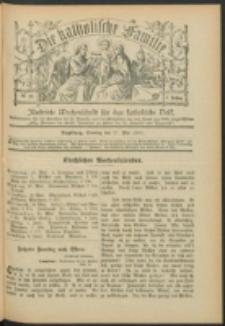Die Katholische Familie. R. 7, no. 22 (1900)