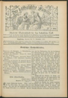 Die Katholische Familie. R. 7, no. 48 (1900)