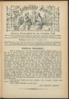 Die Katholische Familie. R. 7, no. 52 (1900)