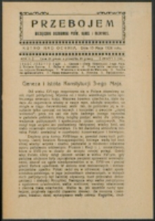 Przebojem. R. 2, z. 5=12 (1924)