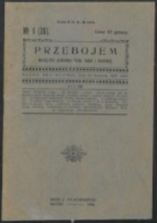 Przebojem. R. 4, z. 1=26 (1926)