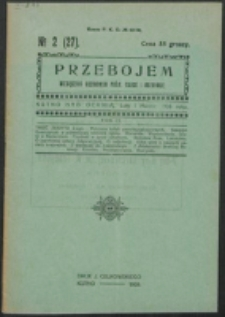 Przebojem. R. 4, z. 2=27 (1926)