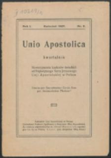 Unio Apostolica. R. 1, nr 2 (1927)