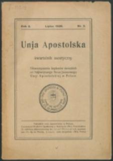Unio Apostolica. R. 2, nr 3 (1928)