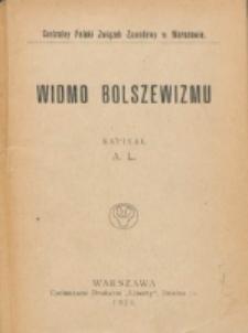 Widmo bolszewizmu / napisał A.L. ; Centralny Polski Związek Zawodowy w Warszawie.