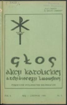 Głos Akcji Katolickiej Archidiecezji Lwowskiej. R. 2, nr 3 (1936)