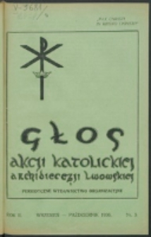 Głos Akcji Katolickiej Archidiecezji Lwowskiej. R. 2, nr 5 (1936)