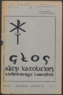 Głos Akcji Katolickiej Archidiecezji Lwowskiej. R. 3, nr 5 (1937)