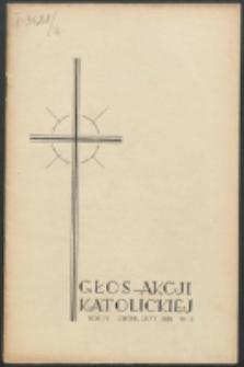 Głos Akcji Katolickiej Archidiecezji Lwowskiej. R. 4, nr 2 (1938)