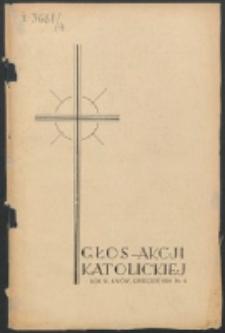 Głos Akcji Katolickiej Archidiecezji Lwowskiej. R. 4, nr 4 (1938)