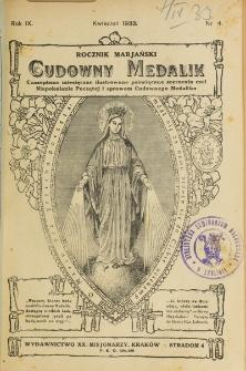 Rocznik Mariański. R. 9, nr 4 (1933)