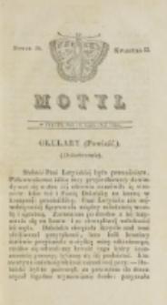 Motyl. Kwartał 2, nr 20 (18 lipca 1828)
